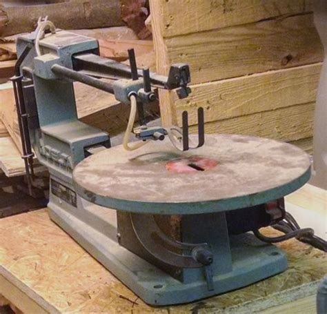 delta table top scroll woodworking on a half shoestring 87 refurbing an old