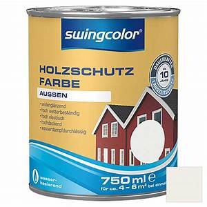 Swing Color Farben : swingcolor holzschutzfarbe wei 750 ml seidengl nzend 5937 holzdeckfarben hadj ~ Orissabook.com Haus und Dekorationen