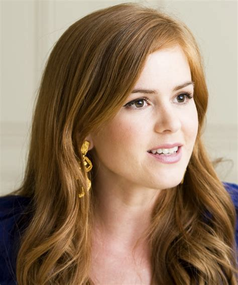 Isla Fisher Hairstyles in 2018