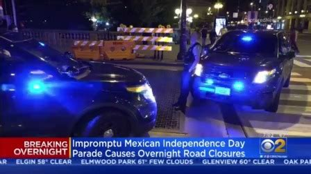 Impromptu Mexican Independence Day Parade Causes Overnight ...