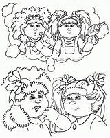 Cabbage Patch Coloring Colouring Clipart Cabage Sheets Silhouette Dolls Line Clip Popular Colour Getdrawings Library Clipground Coloringhome sketch template