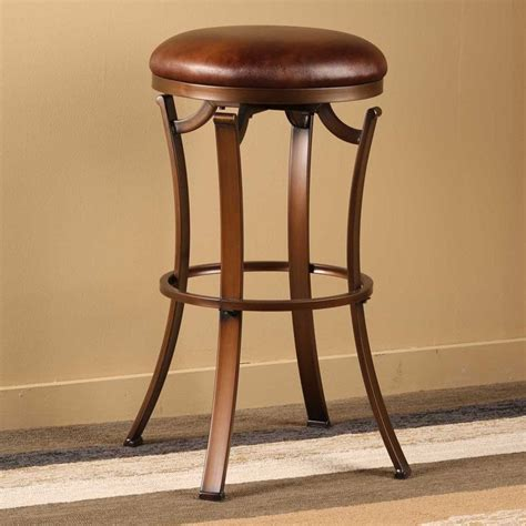 bar stools vintage kelford 30 quot backless swivel bar stool in antique bronze 1479