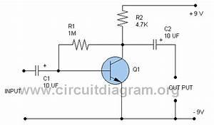 Grozzart  Preamplifier Circuit Diagram