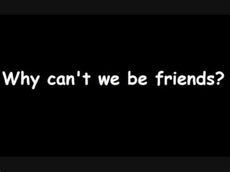 we can be friends quotes