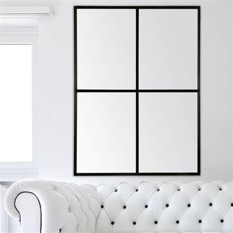 miroir fen 234 tre noir l 116 x h 91 cm leroy merlin