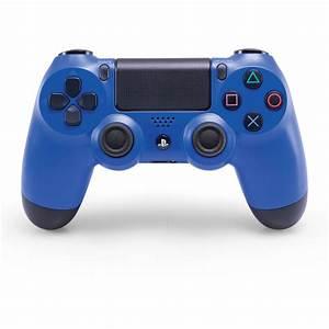 Sony Ps4 Mando Inal U00e1mbrico Dualshock 4 Azul Wave  U2013 3000087