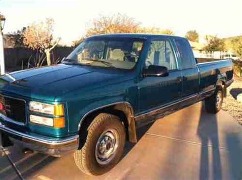 small engine maintenance and repair 1995 gmc 2500 club coupe transmission control find used 1995 gmc c2500 sierra sle extended cab pickup 2 door 19140 org miles in glendale