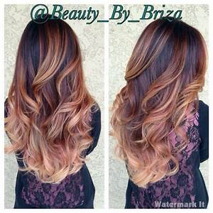 Ombré Hair Auburn : pin by danielle morgan on hair styles hair auburn hair hair styles ~ Dode.kayakingforconservation.com Idées de Décoration