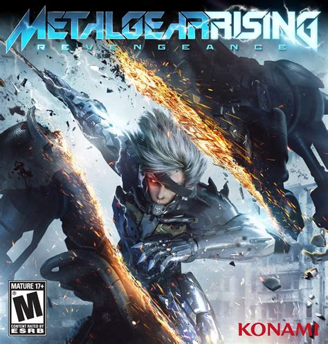 metal gear rising cover metal gear rising revengeance gets impressive cover artwork