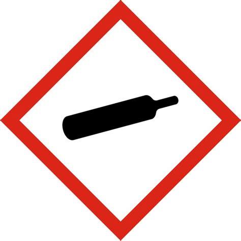 bureau atelier pictogramme de danger gaz