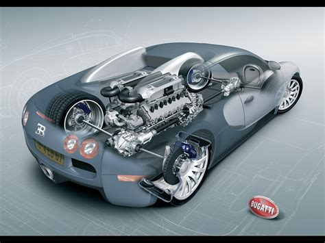 Bugatti Veyron W16 Engine Wallpapers By Cars-wallpapers.net