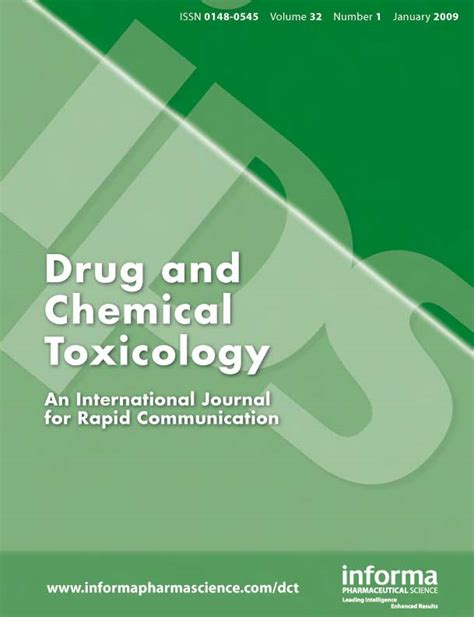 Drug and Chemical Toxicology - Wikipedia
