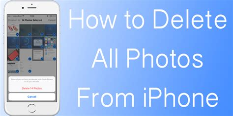how to remove pictures from iphone how to delete all photos from iphone unlockboot