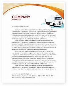 truck tractor letterhead template layout for microsoft With trucking company letterhead templates