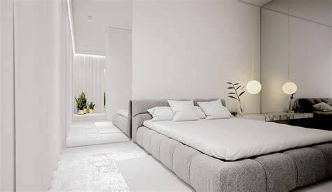 white minimalist spaces     forget