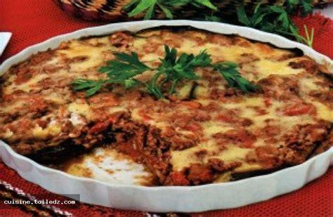 recette cuisine aubergine recette moussaka d aubergine le grand livre de recettes