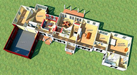 house plans for families modern family house plans 4721