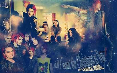 Romance Chemical Mcr Christmas Background Backgrounds Wallpapers