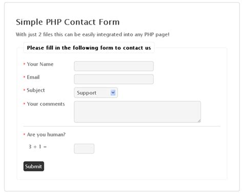 simple contact form 25 best of best web form designs to start with