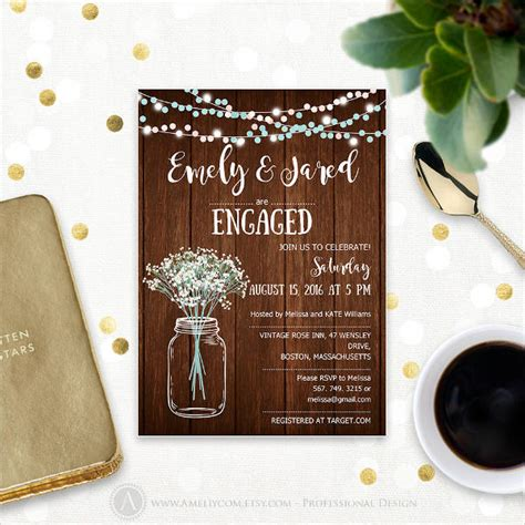 engagement invitations psd ai word