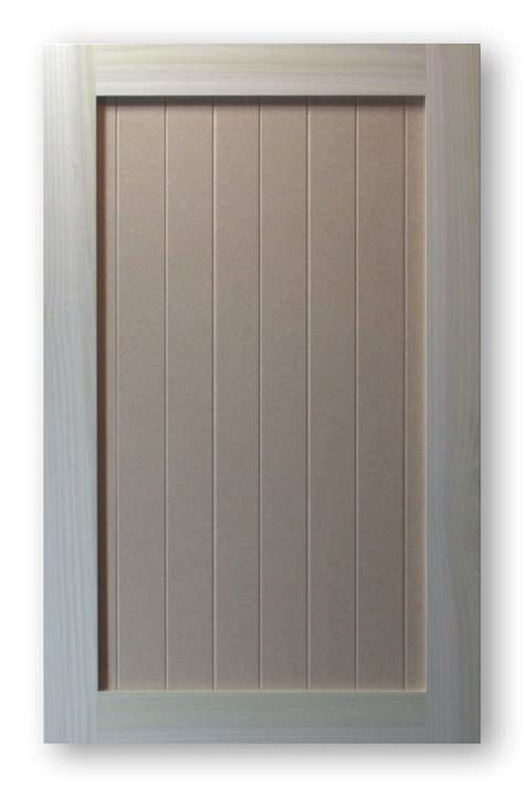 Pre Made Mdf Cabinet Doors by Shaker Vee Groove Cabinet Door Poplar Frame Mdf Panel 2