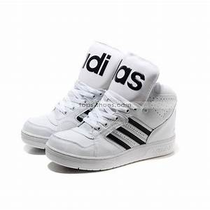 Adidas Shoes High Tops Black And White softwaretutor.co.uk