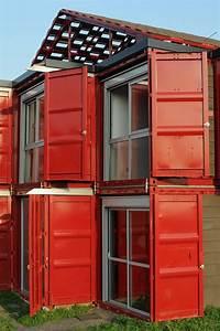 Container Mit Glasfront : maison container lille ein merkw rdiges container haus in frankreich ~ Indierocktalk.com Haus und Dekorationen