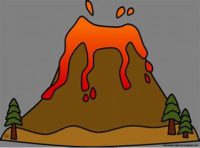 Volcano Clipart Clip Animated Cliparts Library Wallpapers