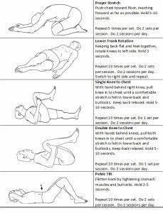 Pilates rugklachten