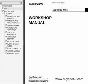 Hino Vehicles Workshop Manual Pdf