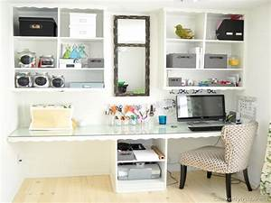 31 simple office storage ideas small spaces yvotubecom With small home office organization ideas