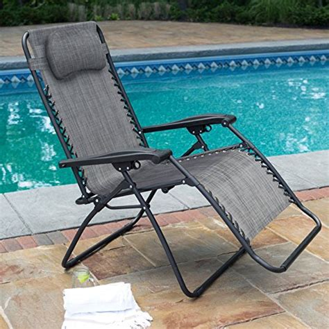 caravan canopy sports oversized zero gravity chair grey