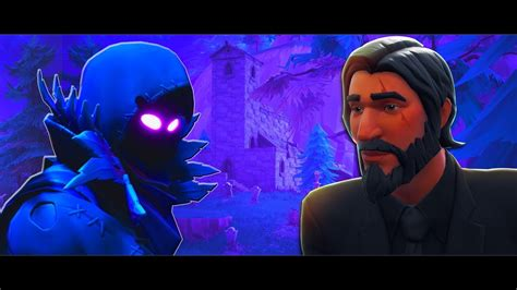 john wick died    raven  fortnite short