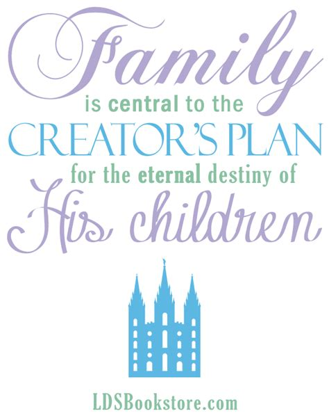 lds quotes eternal families