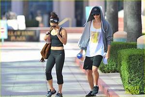 Full Sized Photo of vanessa hudgens morning workout 10 ...