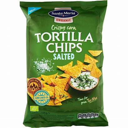 Chips Tortilla Organic Salted Santa Maria Tex
