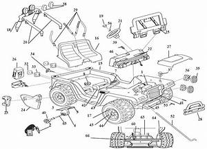 Power Wheels Diego Jeep Wrangler Parts