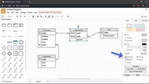 Creating Entity Relationship Diagrams Using Draw Io