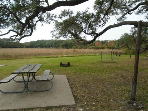 goose island state park campsites  water walk  texas parks wildlife department