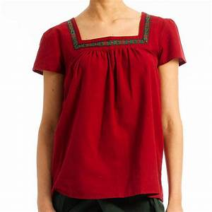 square neck top by lalestyle | notonthehighstreet.com