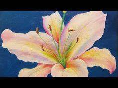 RED POPPY Acrylic Painting Tutorial by #angelafineart on ...