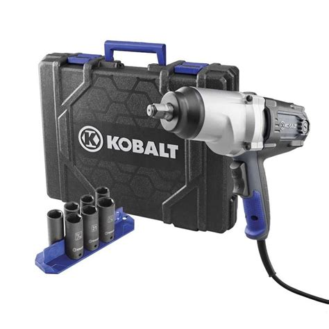 Shop Kobalt 8-Amp 1/2-in Corded Impact Wrench at Lowes.com
