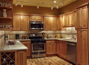 Kitchen Backsplash Designs With Oak Cabinets by Tile Backsplash Ideas For Oak Cabinets Home Design Ideas