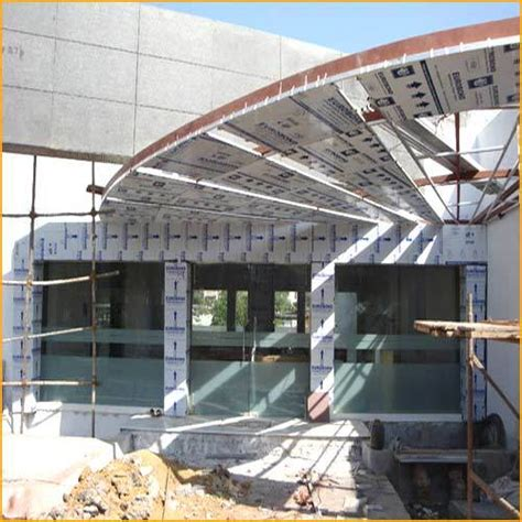 multiple aluminum composite roof panel uday patterns engineers id