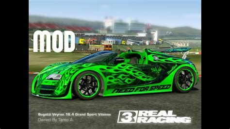 Cars Wallpaper Bugatti Green by Real Racing 3 Bugatti Veyron Grand Sport Vitesse 16 4