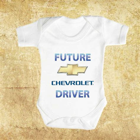 Future Chevrolet Driver Brand New Baby Romper By