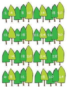winter number patterns easy kids crafts number