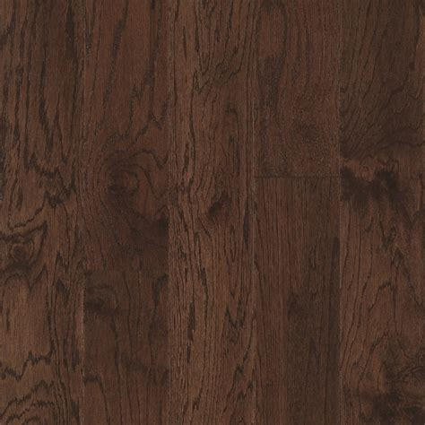 Shop Pergo Oak Hardwood Flooring Sample (Chocolate Oak) at