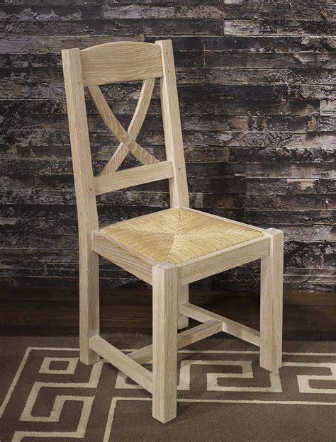 chaise chene chaise olivier en chêne massif de style cagnard
