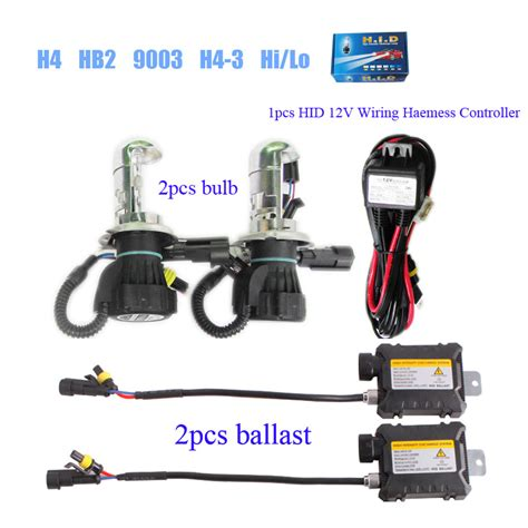 wholesale bi xenon hid slim kit h4 hb2 9003 9004 hb1 9007